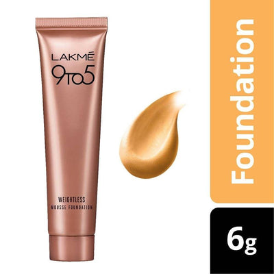 Lakme 9 To 5 Weightless Mousse Foundation - Beige Vanilla - Distacart