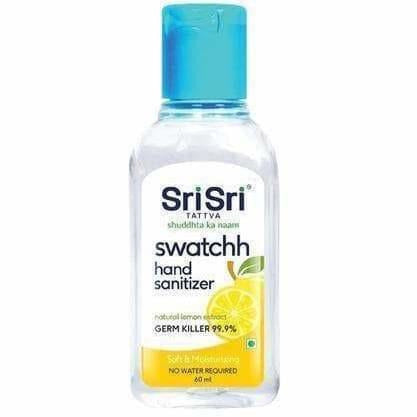 Sri Sri Tattva Swatchh Hand Sanitizer - Soft & Moisturising, 60ml
