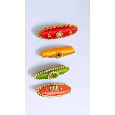 Set of 4 - Designer Saree Pins