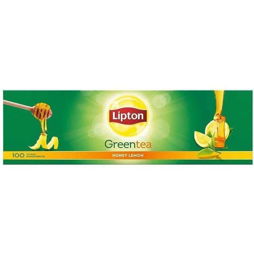 Lipton Honey Lemon Green Tea Bags