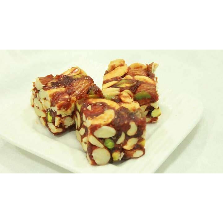 Vellanki Foods Sugar Free Dry Fruit Burfi