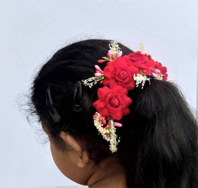 Red Trendy Hair Accessories