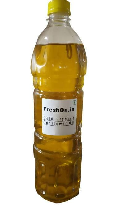 FreshOn.in Cold Pressed Sun Flower Oil