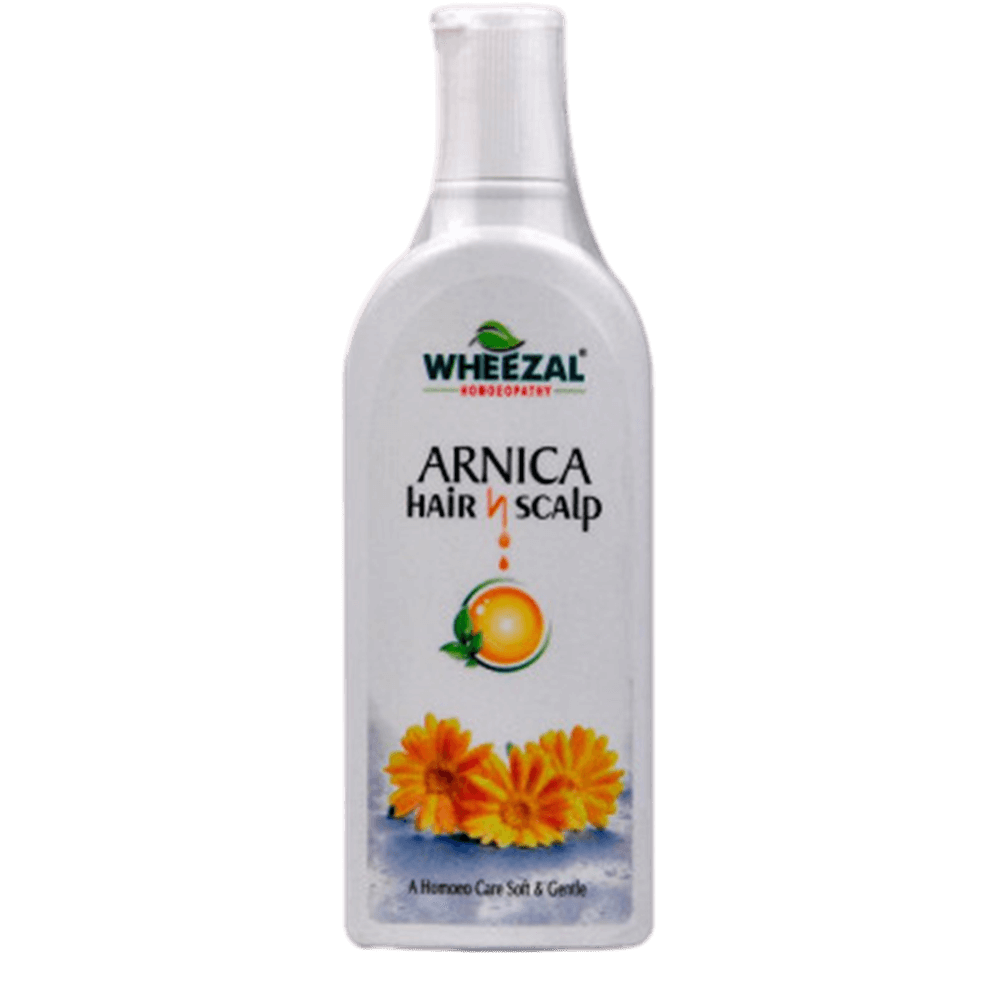 Wheezal Homeopathy Arnica Hair and Scalp Shampoo