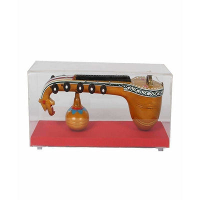 Bobbili Small Plain Veena with Frame