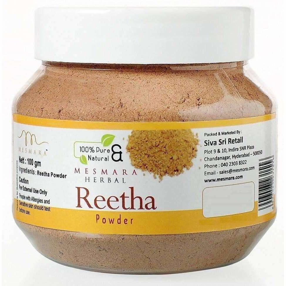 Mesmara Herbal Reetha Powder (100gm)