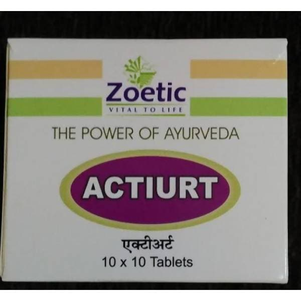 Zeotic Ayurveda Actiurt tablet
