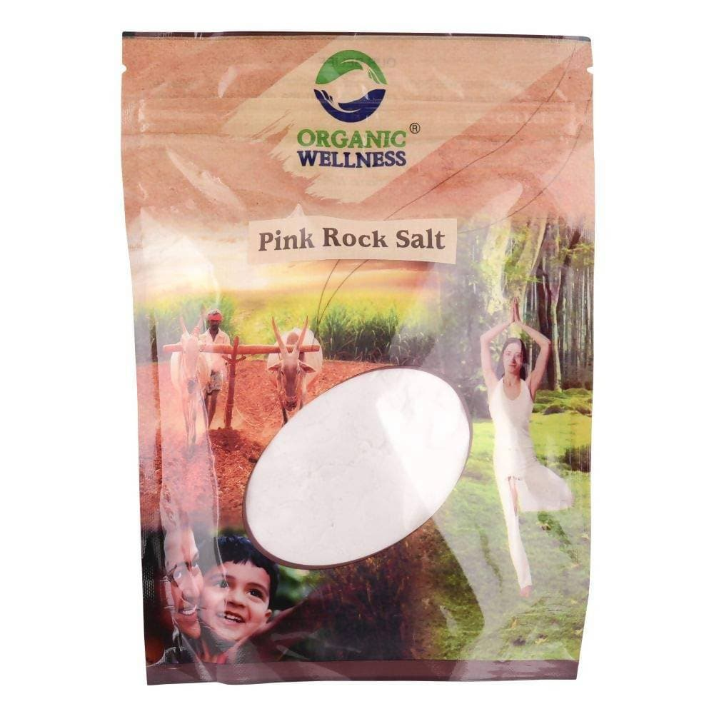 Organic Wellness Pink Rock Salt