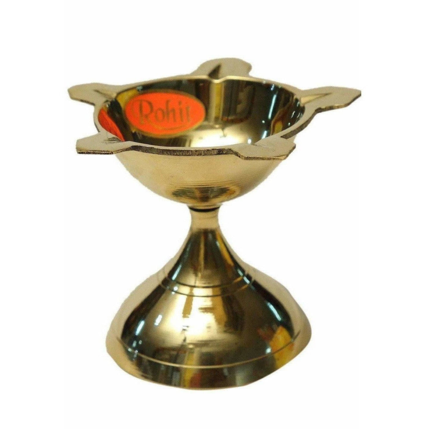 Diya Lamp Oil Stand (Small Size) / Deepam Kundulu (Small Size) - Dista Cart