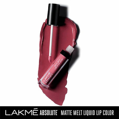 Lakme Absolute Matte Melt Liquid Lip Color - Pink Silk