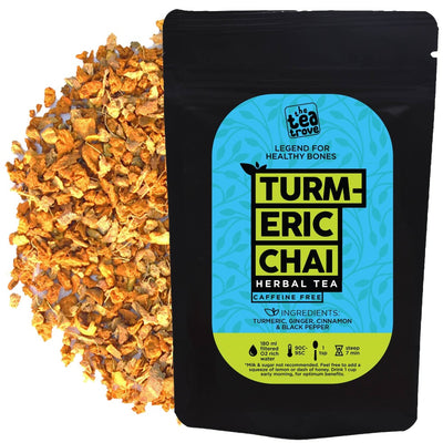 The Trove Tea - Turmeric Chai Herbal Tea