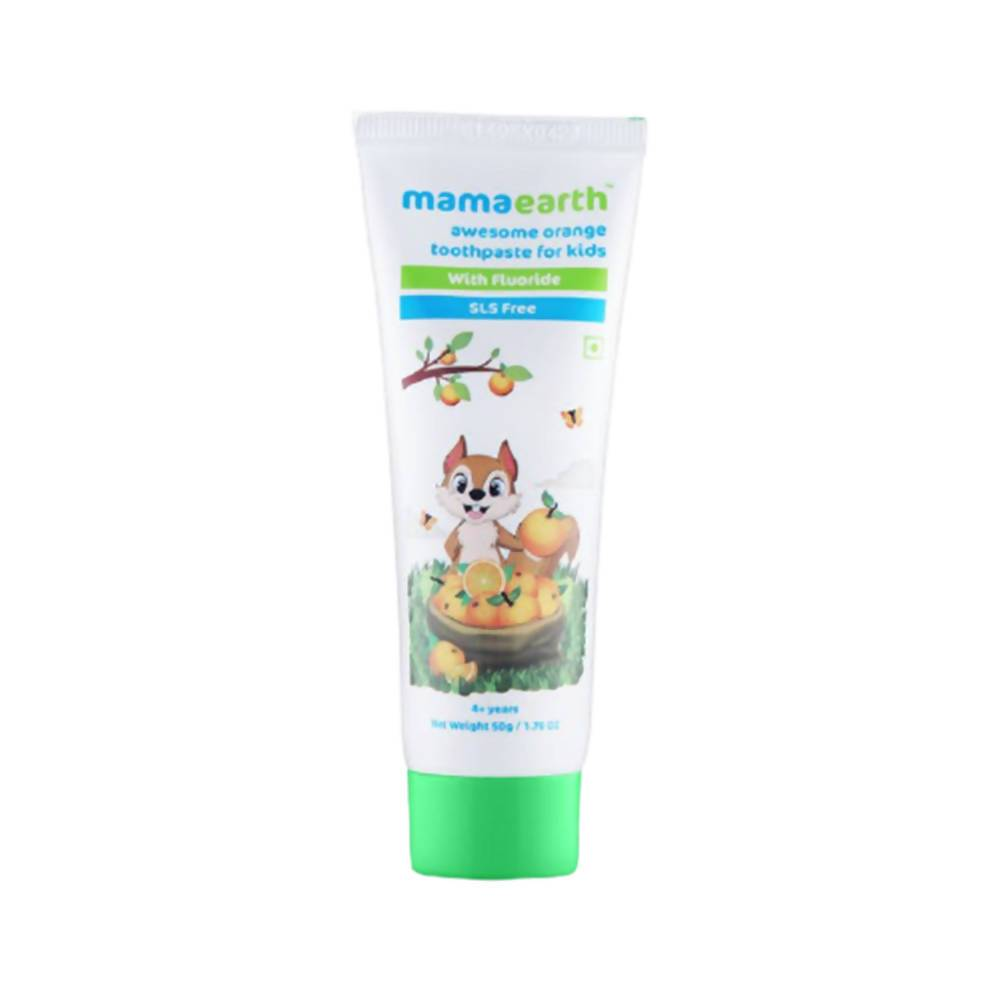 Mamaearth Awesome Orange Toothpaste For Kids