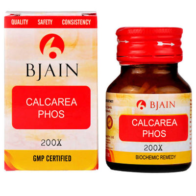 Bjain Homeopathy Calcarea Phosphorica Biochemic Tablet 200X