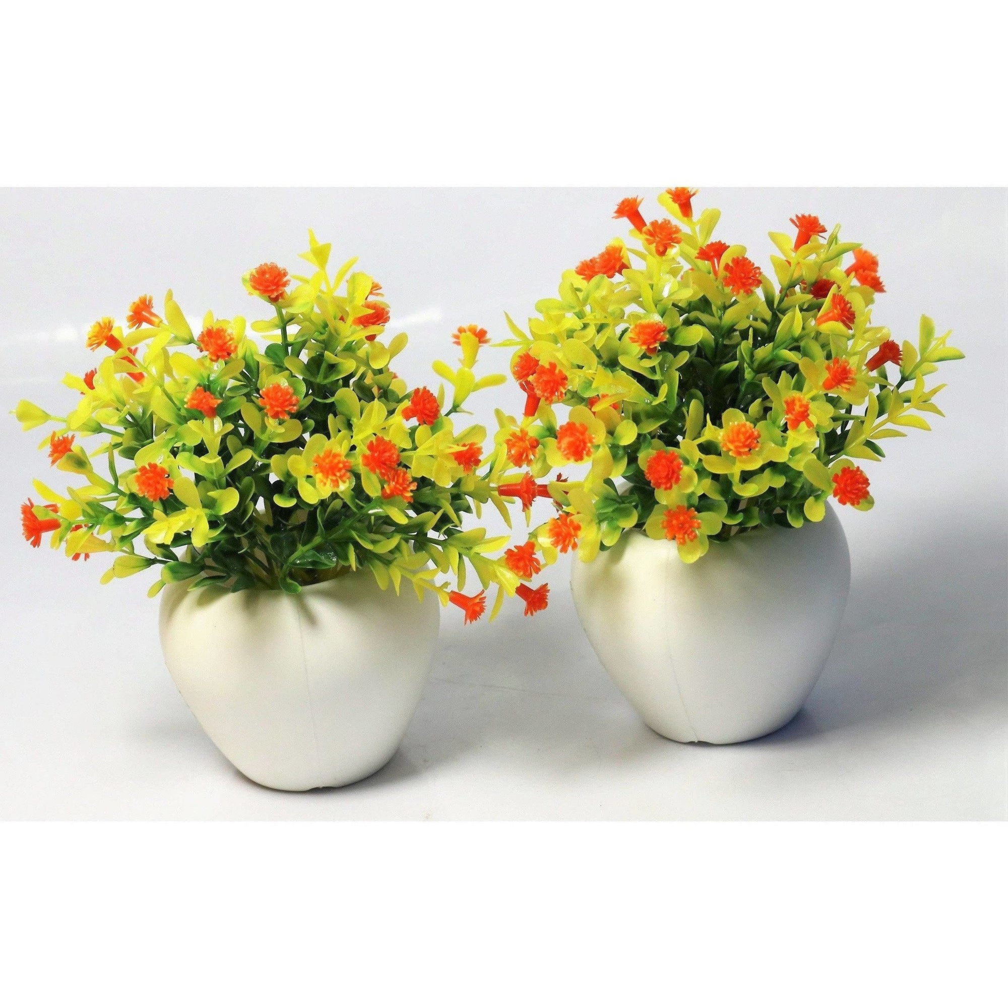 Chahat Decorative Artificial Flower Plant 2 Piece Combo