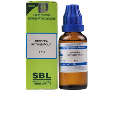 SBL Homeopathy Drosera Rotundifolia Dilution