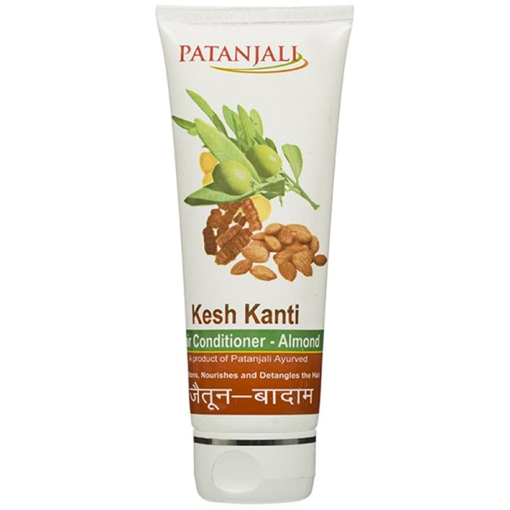 Patanjali Kesh Kanti Hair Conditioner Olive Almond (100 GM)