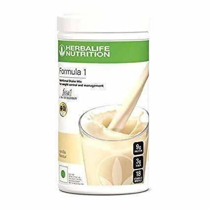 Herbalife Formula 1- Nutritional Shake Mix - French Vanilla (500 Gms) - Distacart