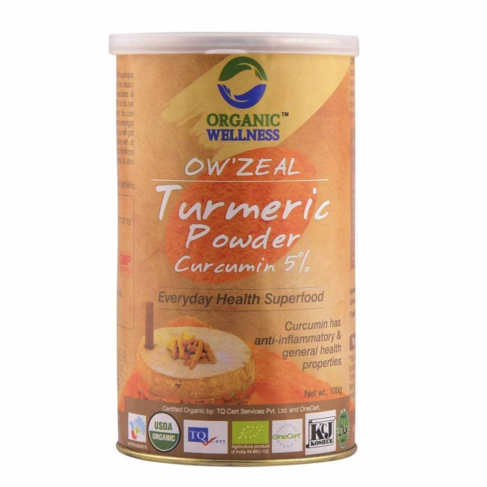 Organic Wellness Ow'zeal Turmeric Powder