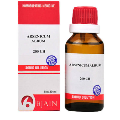 Bjain Homeopathy Arsenicum Album Dilution - Distacart