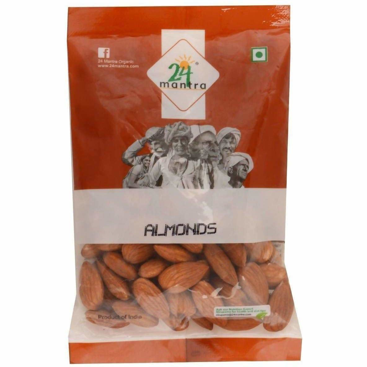 24 Mantra Organic Almonds