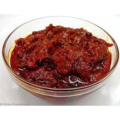 Tomato Pickle / Tamataar Ka Achaar (with Garlic)