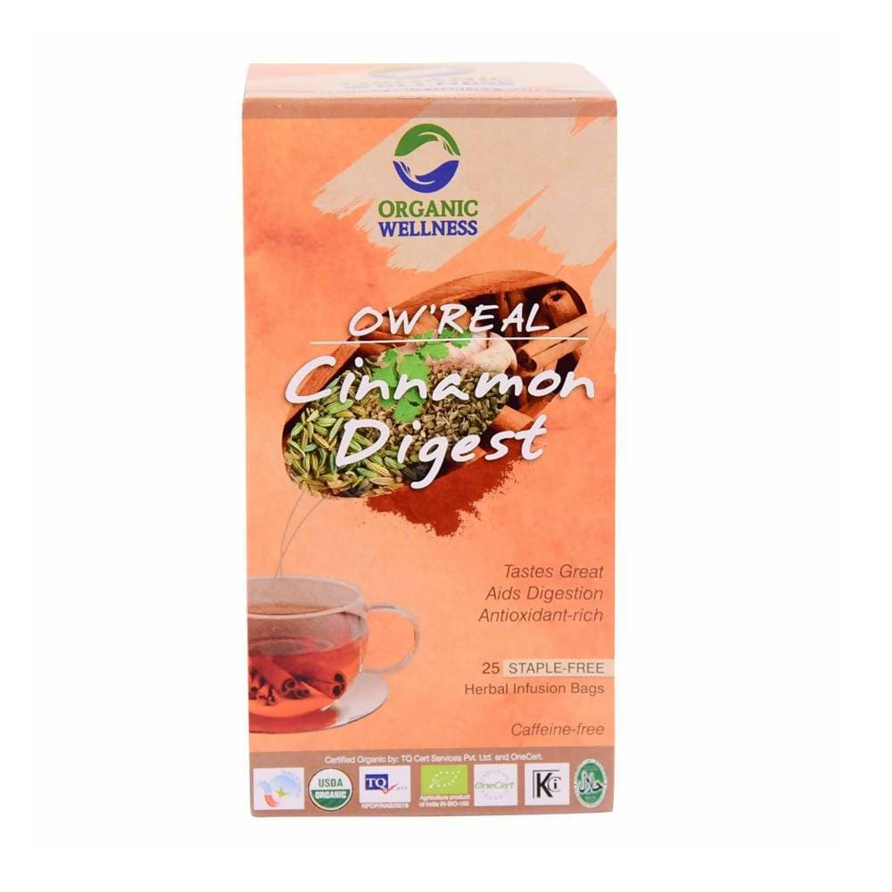 Organic Wellness Ow'Real Cinnamon Digest Teabags