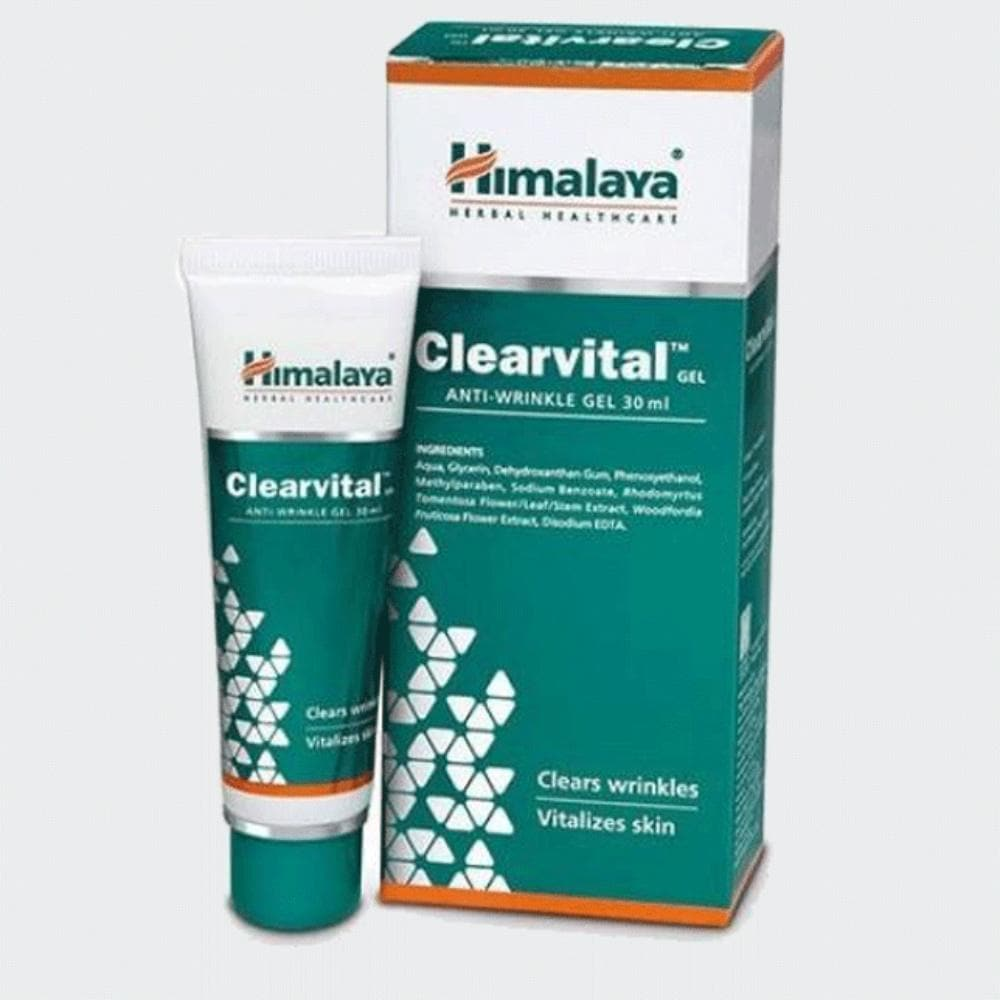 Himalaya Herbals - Clearvital Anti Wrinkle Gel (30 ml) - Distacart