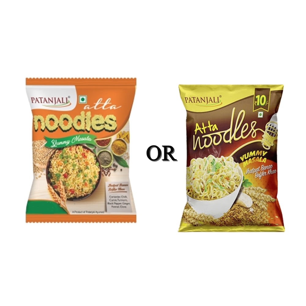 Noodles Patanjali Atta Noodles Yummy Masala Pack Of 10 Upto 50 Off Online In Usa Canada At Best Price