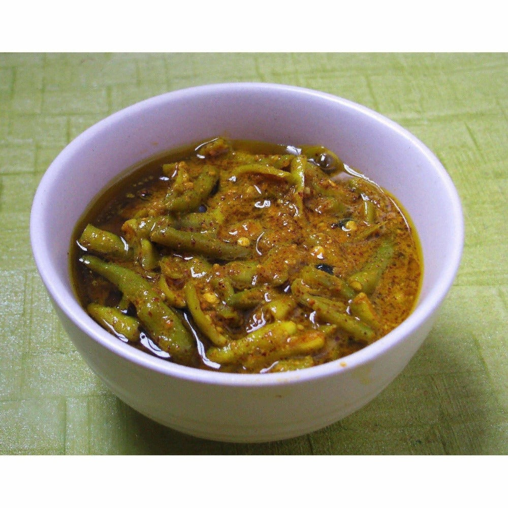 Green Chilli Pickle / Hari Mirch Ka Achaar