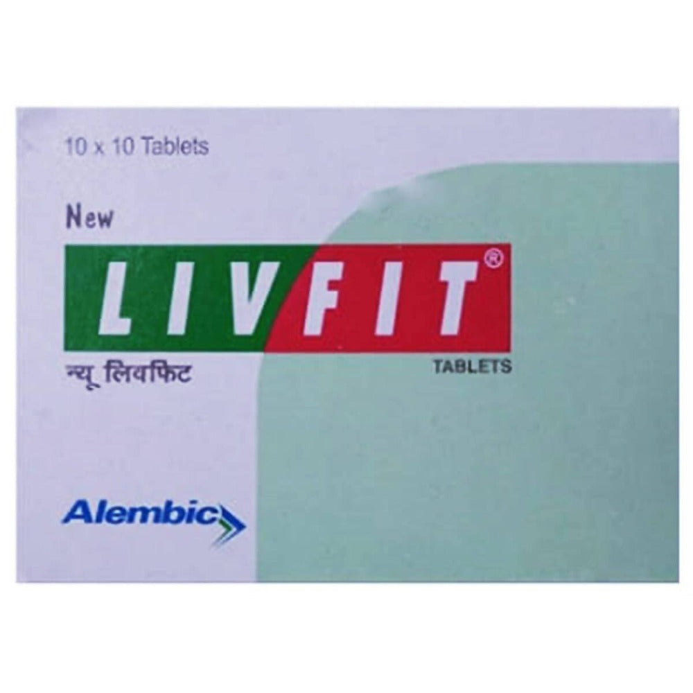 Alembic Ayurveda New Livfit Tablets
