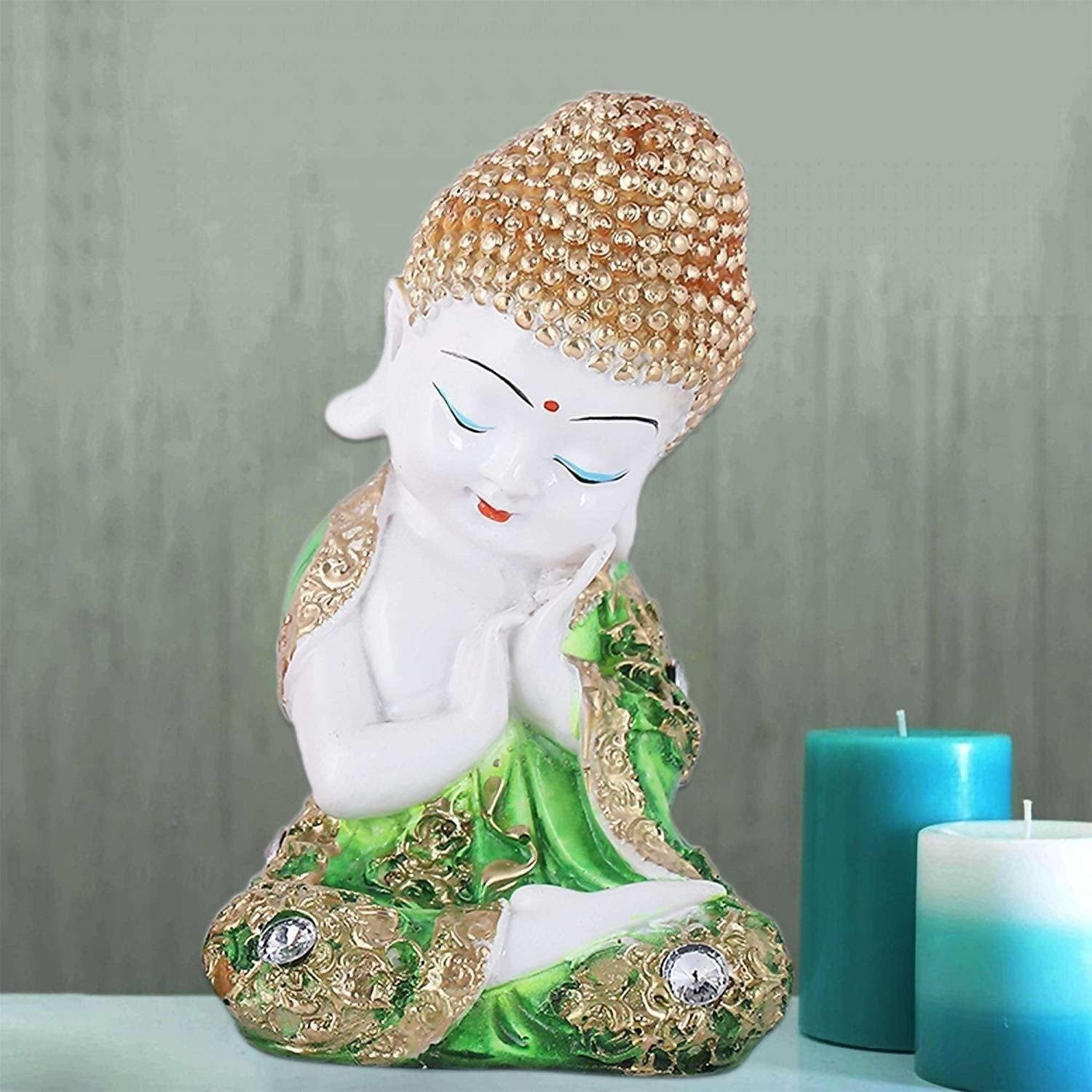 Buddha Statue for Home Decor House Warming Gift Peace and Harmony
