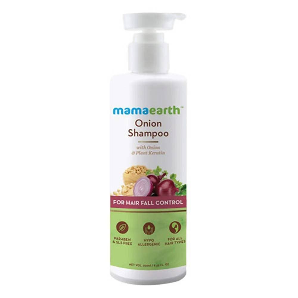 Mamaearth Onion Shampoo For Hair Fall Control