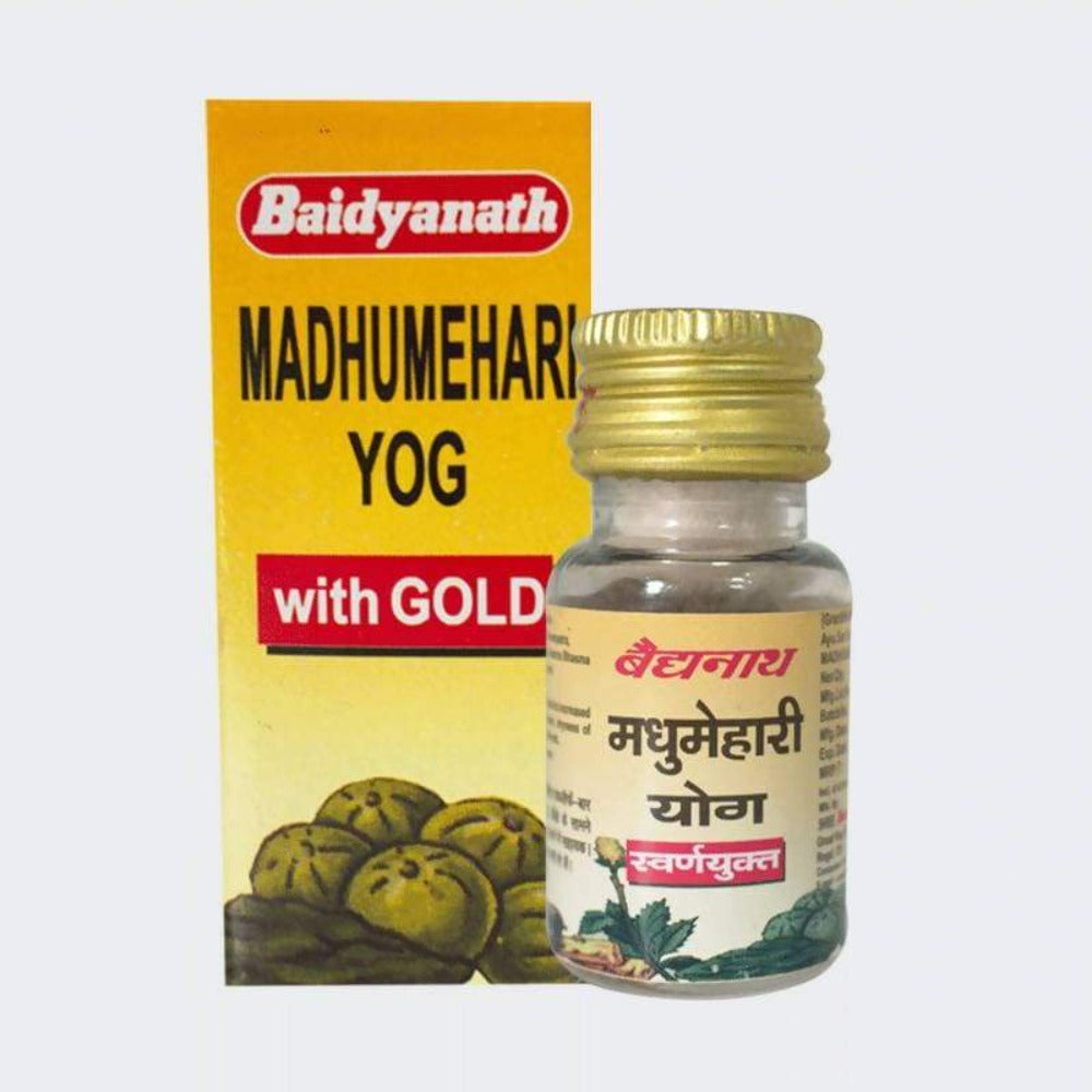 Baidyanath Madhumehari Yog With Gold