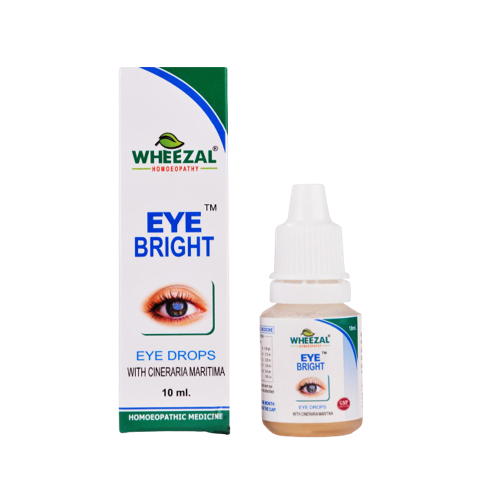 Wheezal Homeopathy Eye Bright Eye Drops