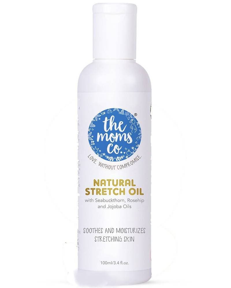 The Moms Co Natural Stretch Oil - Distacart