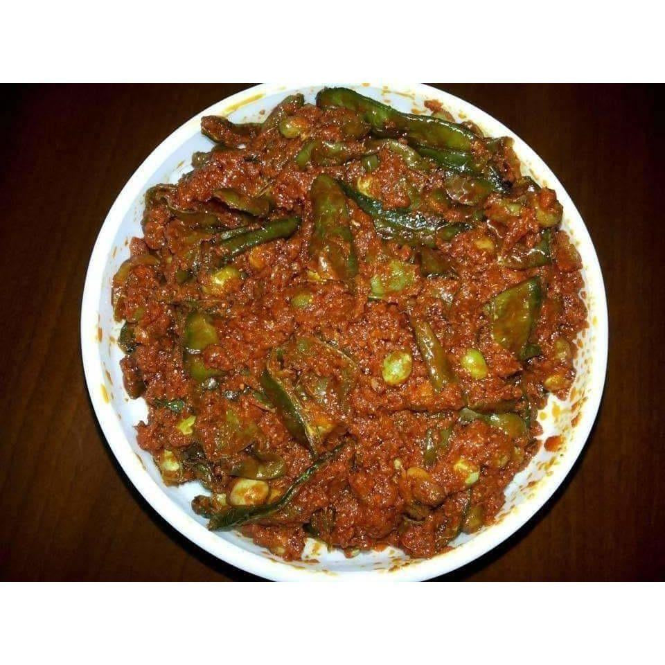 Beans Pickle / Sem Ka Aachar / Chikkudukaaya Pickle