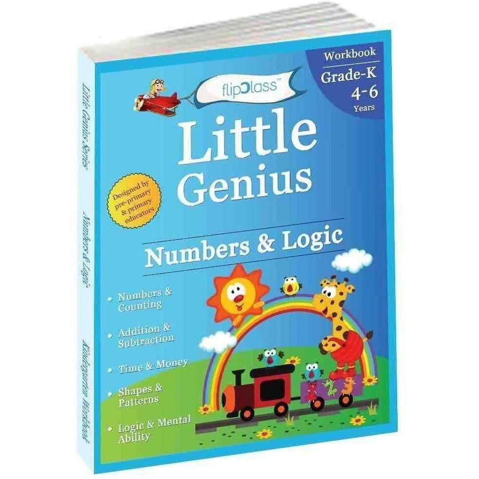 Numbers & Logic: KG Workbook (Little Genius Series) to Pre-Primary Child (4-6 yrs)(English)