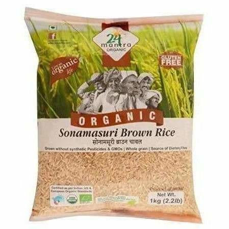 24 Mantra Organic Brown Sona Masoori Rice