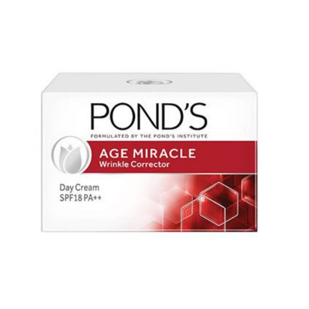 Pond's Age Miracle Wrinkle Corrector Day Cream SPF 18 PA++ - Distacart