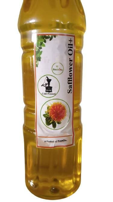 FreshOn.in Cold Pressed Safflower Oil