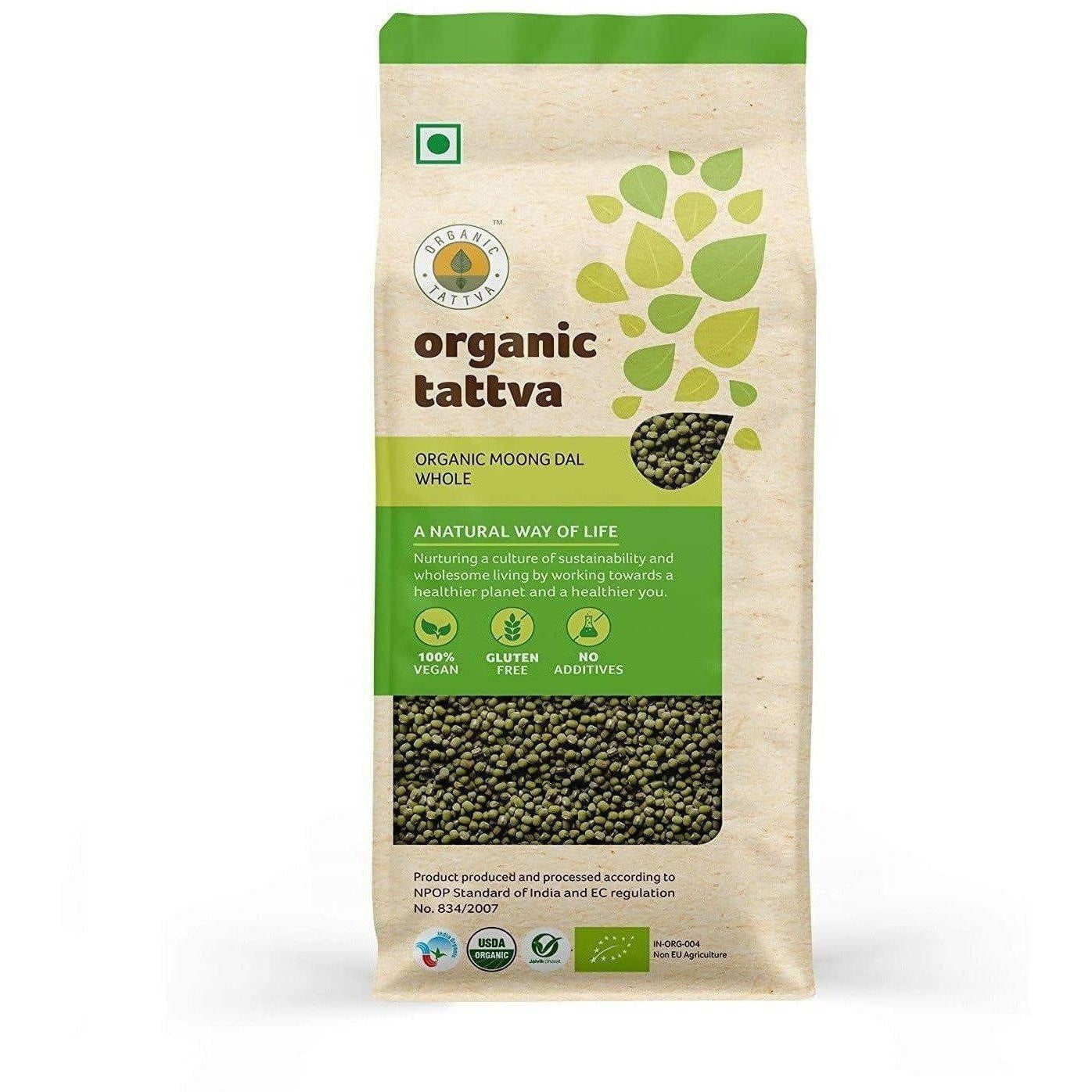 Organic Tattva Organic Moong Dal Whole
