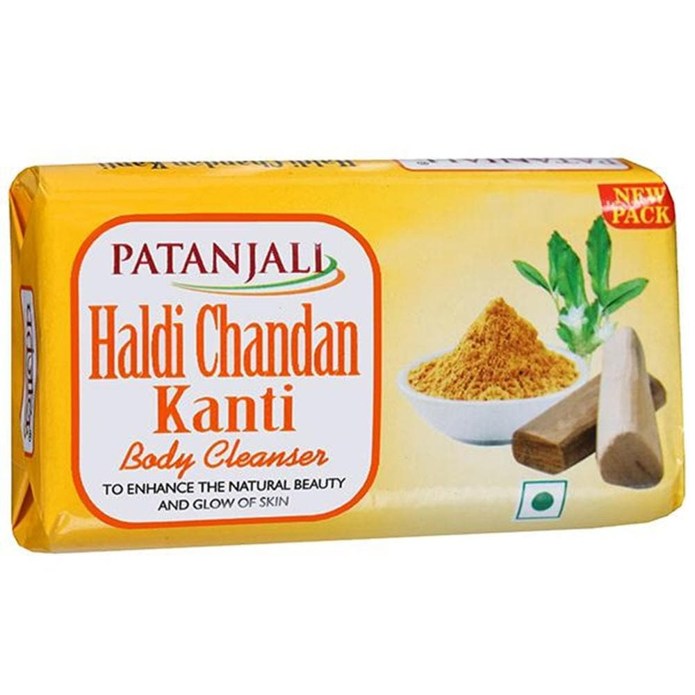 Patanjali Haldi Chandan Kanti Body Cleanser - Distacart