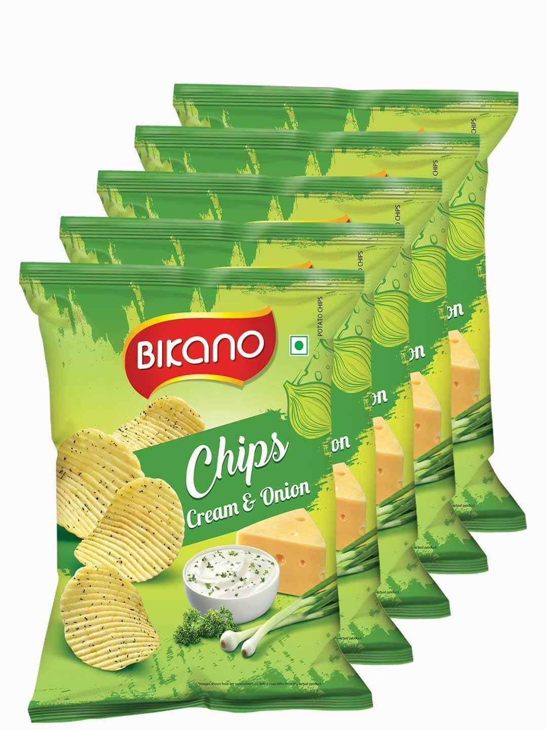 Bikano Chips - Cream Onion 60 gm
