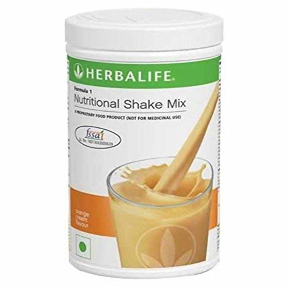 Herbalife Formula 1 Nutritional Shake Mix - Orange Cream Flavour - Distacart