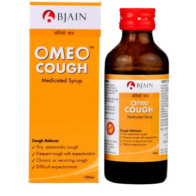 Bjain Homeopathy Omeo Cough syrup 100ml