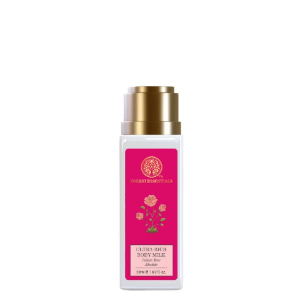 Forest Essentials Ultra-Rich Body Milk Indian Rose Absolute - Distacart