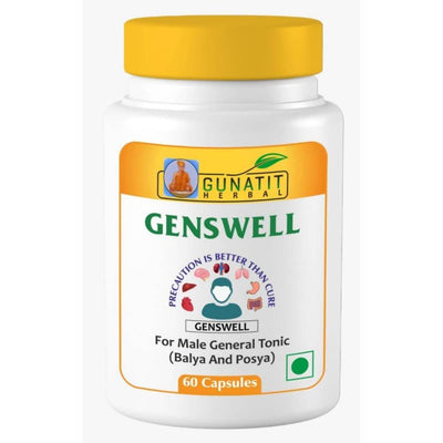 Gunatit Herbal Combo Of Genswell + Gunabit Capsules - Distacart