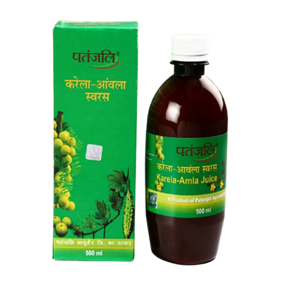 Patanjali Karela Amla Juice (500 ML) - Distacart