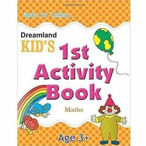 Kid's 1st Activity Book - Maths For Toddlers