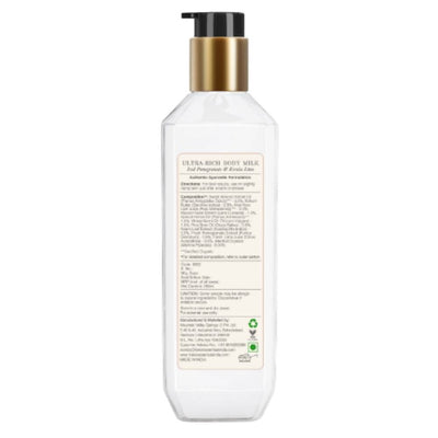 Forest Essentials Ultra-Rich Body Milk Iced Pomegranate & Kerala Lime - Distacart